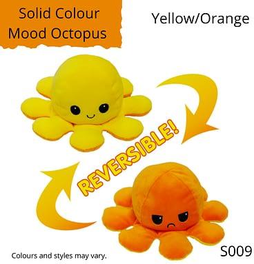 Yellow/Orange Solid Colour Mood Octopus