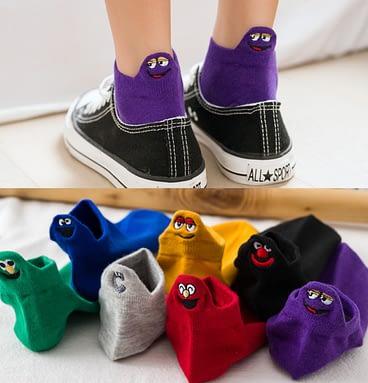Unisex Heel Pets Low Cut Socks