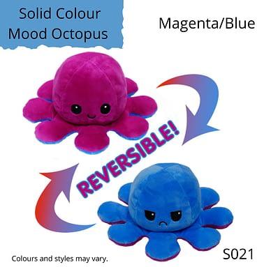 Magenta/Blue Solid Colour Mood Octopus